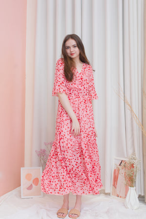 AURORA Hearty Maxi Dress