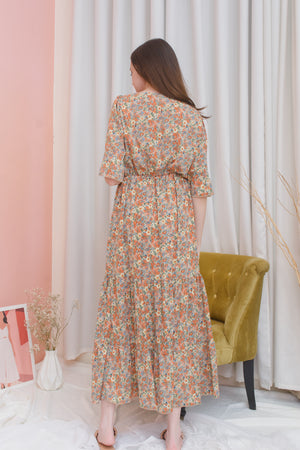SHELBY Floral Maxi Dress
