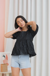 BELLINI Puff Sleeve Top