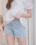 PALMER Denim Shorts - Light Wash