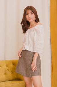 CORDIA Buttoned Skirt
