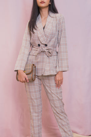 MELROSE Set: Blazer Suit & Pants