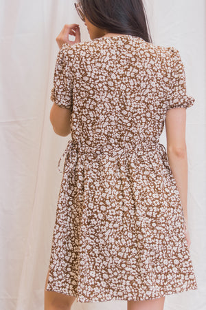 MONTANA Floral Babydoll Dress