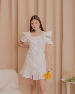 DULCE Ruffle Sleeve Dress