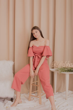 STELLA Off the Shoulder Jumpsuit