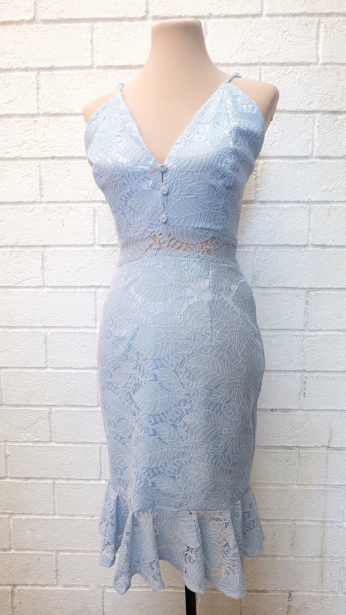 TANYA Lace Mermaid Dress