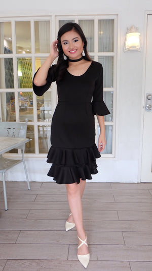 OLIVIA Ruffled Dress