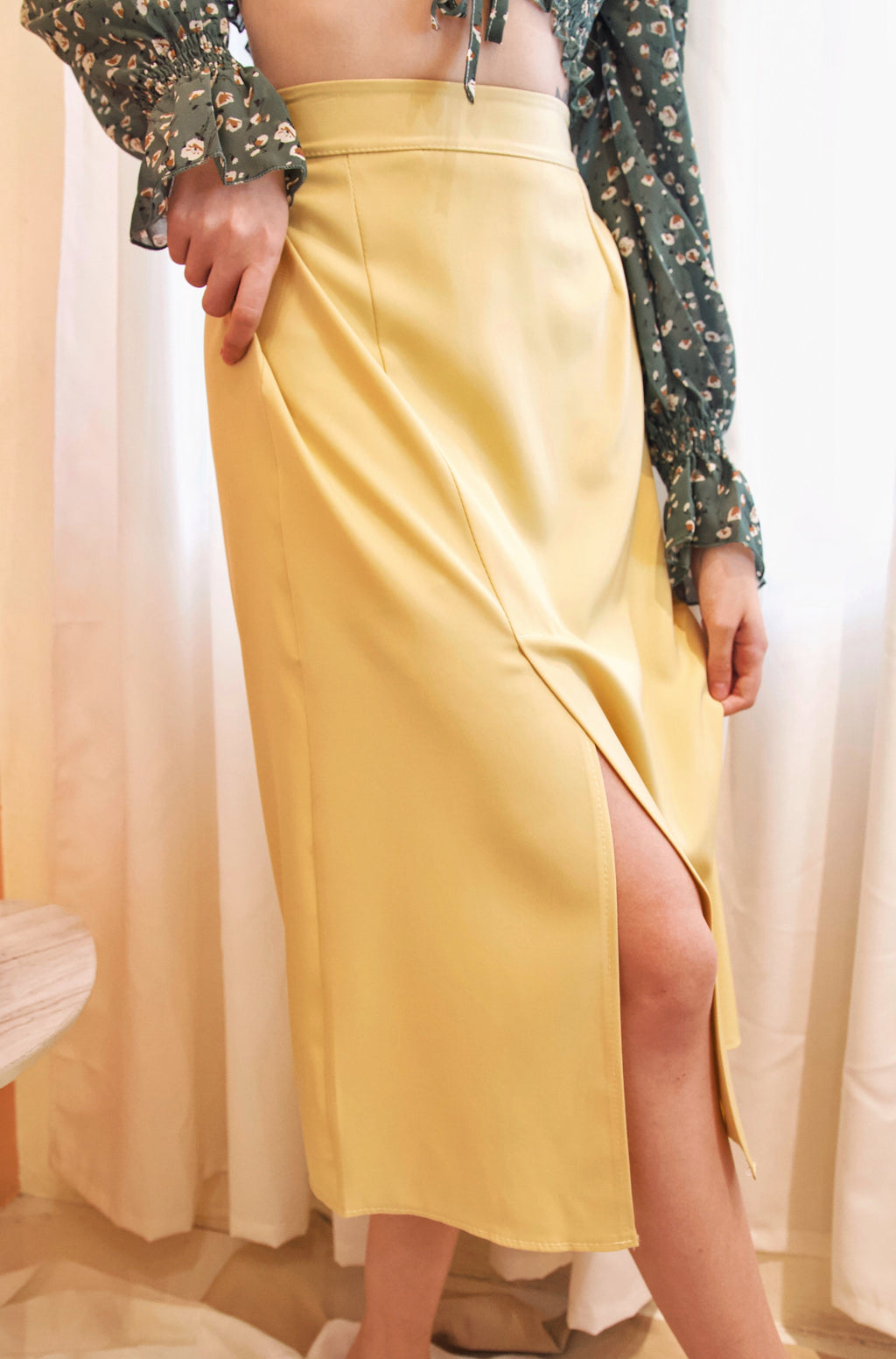 LINNEY Skirt with Slit