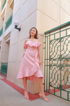 SANDRINE Ruffle Dress