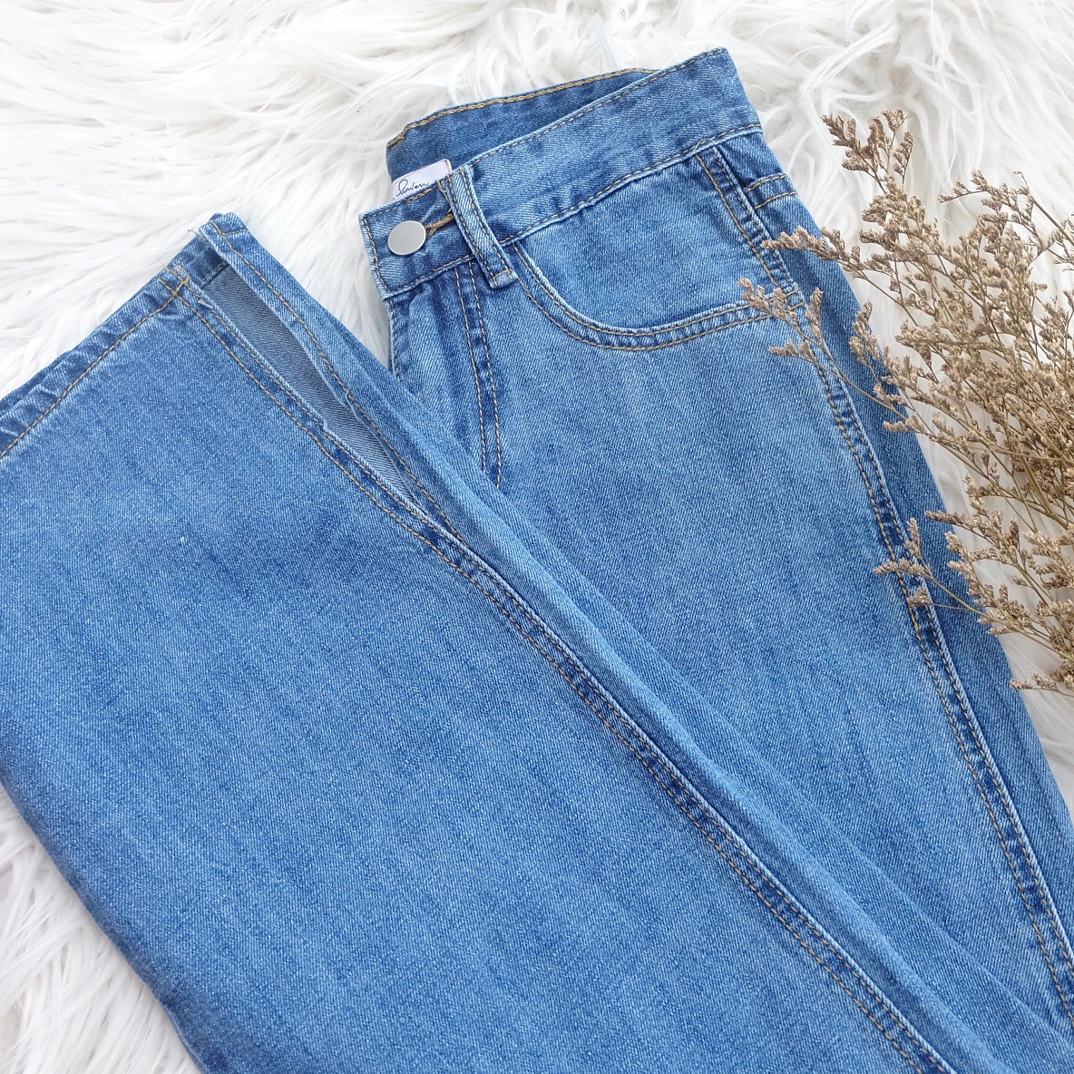 FLYNN Denim Pants - Dark Wash