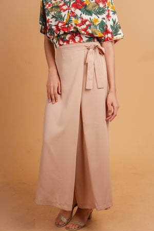 MINNEAPOLIS Overlap Tie Culottes