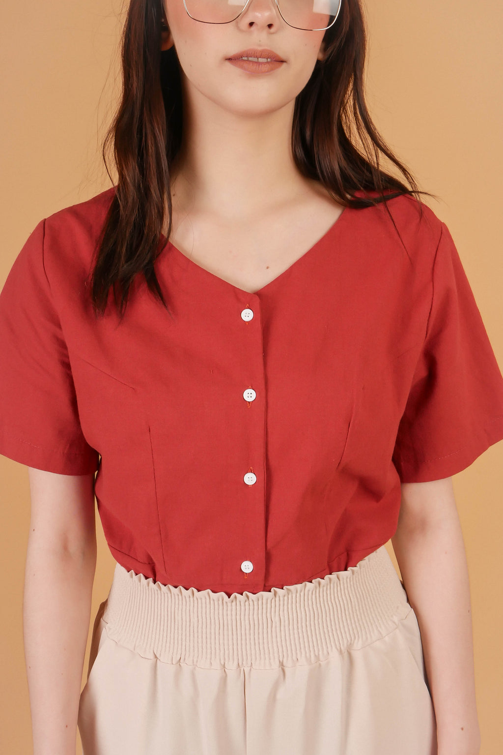 SORRENTO Buttoned Top