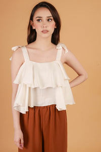 CLEO Ribbon Two Layered Top