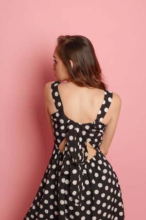RILEY Polka Dotted Dress