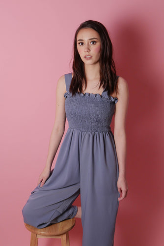 BLISS Smocked Jumpsuit