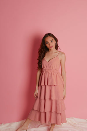 ARYA Tiered Dress