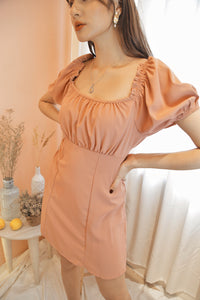 ANNA Puff Sleeve Dress