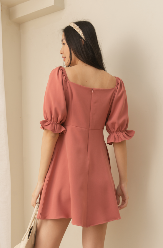 LONDYN Puff Sleeve Dress