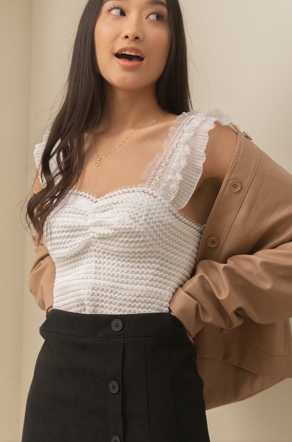 CELESTINE Textured Blouse
