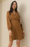 CHRISELLE Long Sleeve Dress
