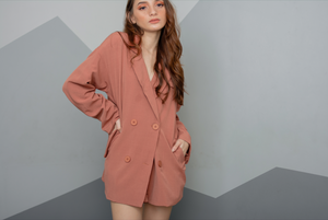 ILIANA Blazer Set + Shorts