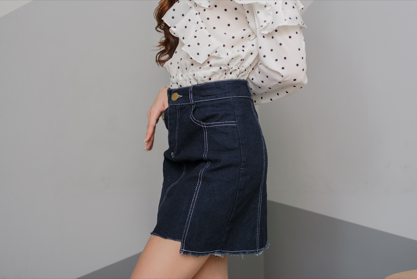 MARLEY Denim Skirt