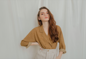 ZETTA Long Sleeve Button-Down