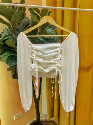 OIA Ruched Crop Top