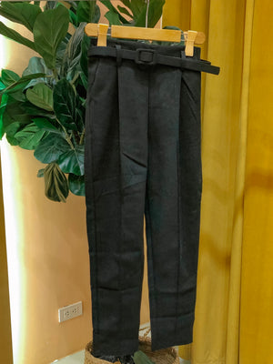 YURI Belted Trouser Pants
