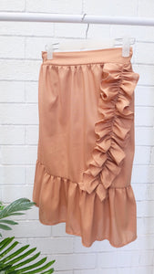 CAMEY Ruffled Skirt