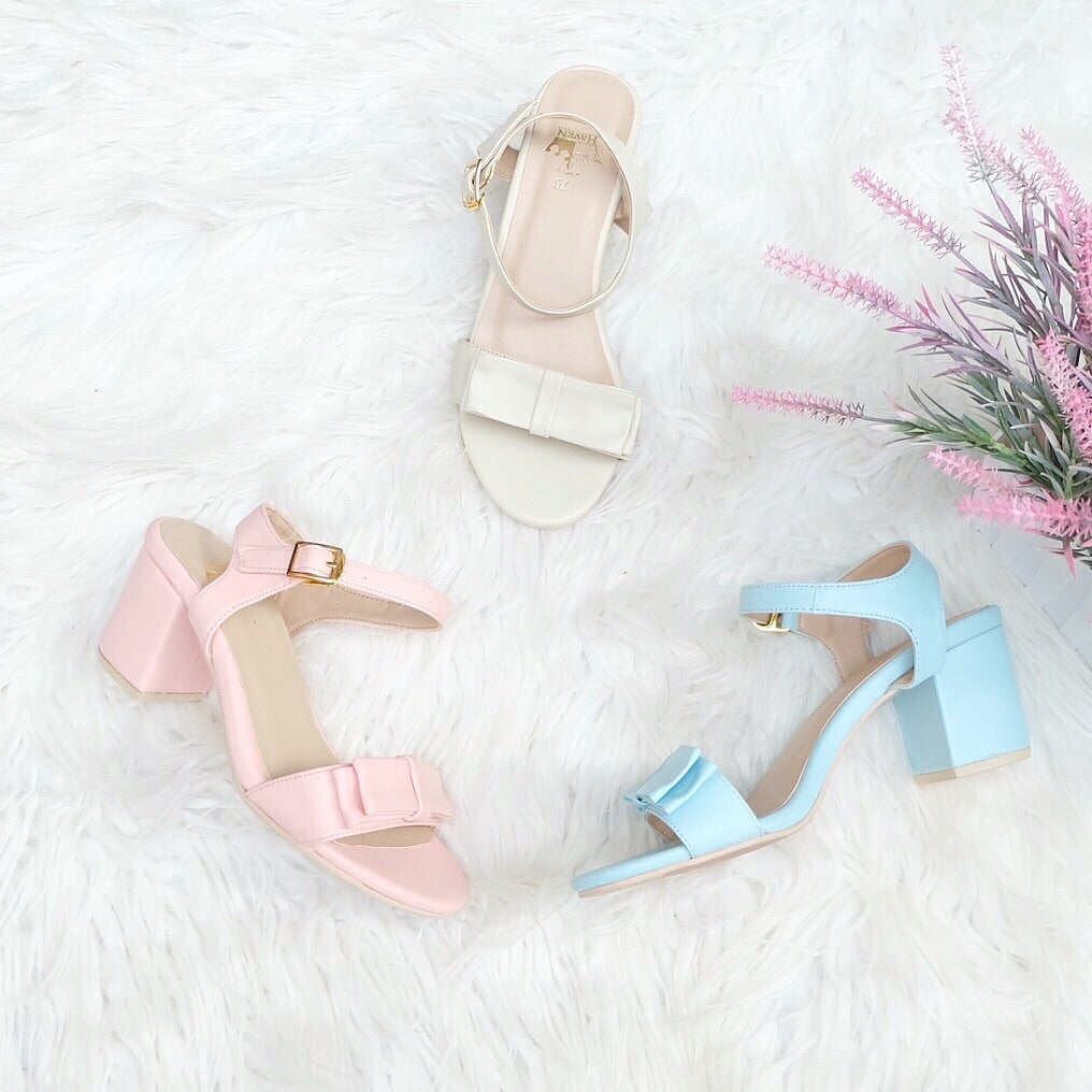 CANDY Low Block Heels
