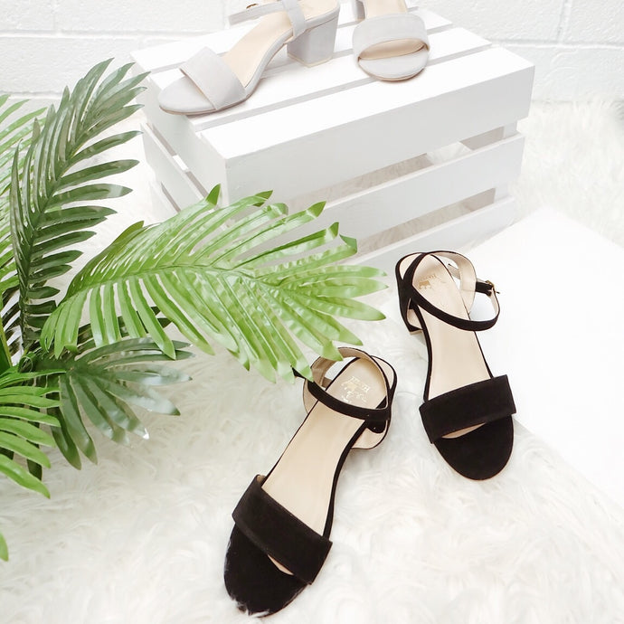 KATRICE Low Block Heels