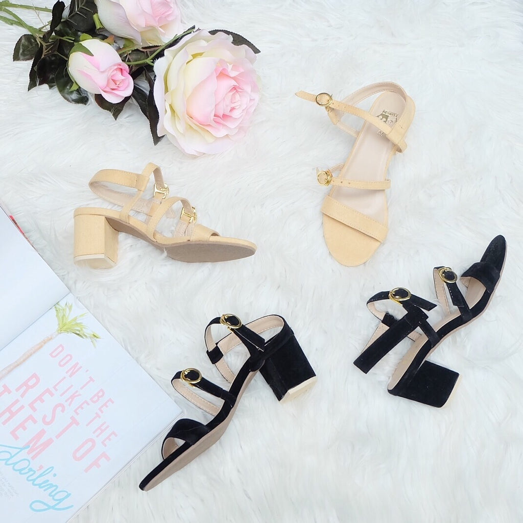 DAPHNE Low Block Heels