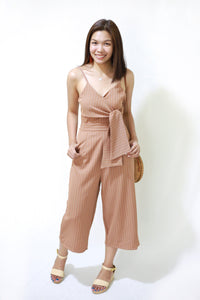 ARIA Stripes Jumpsuit