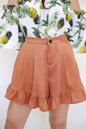 EVELYN Crepe Shorts