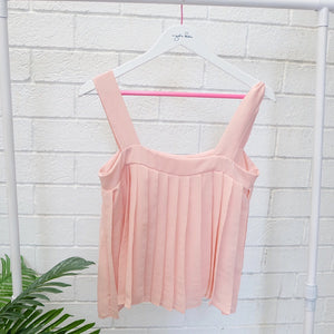 Electric Pleats Top