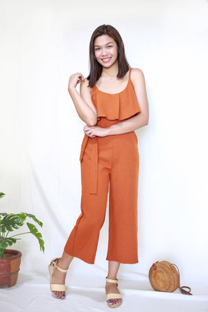 LAYLA Cotton Jumpsuit