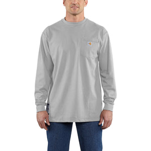 100235 - FLAME-RESISTANT FORCE® COTTON LONG-SLEEVE T-SHIRT