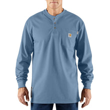 100237 - FLAME-RESISTANT FORCE® COTTON LONG-SLEEVE HENLEY