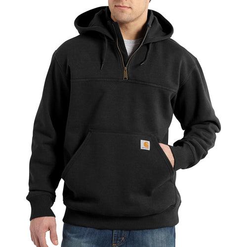 100617 - RAIN DEFENDER® PAXTON HEAVYWEIGHT HOODED ZIP MOCK SWEATSHIRT