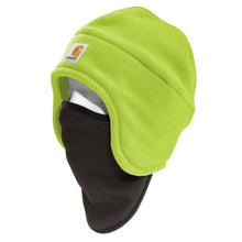 100795 - HIGH-VISIBILITY COLOUR ENHANCED FLEECE 2-IN-1 HAT