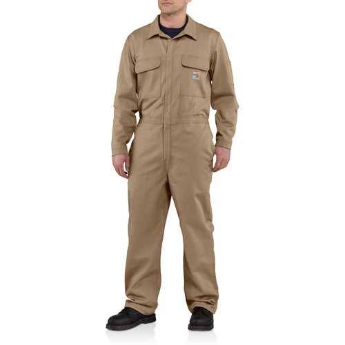101017 250 - FLAME-RESISTANT TRADITIONAL TWILL COVERALL