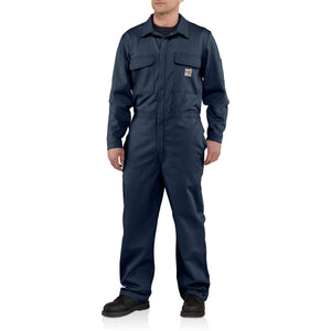101017 410 - FLAME-RESISTANT TRADITIONAL TWILL COVERALL