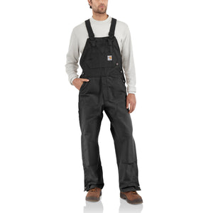 101627 001 - FLAME-RESISTANT DUCK BIB OVERALL/UNLINED