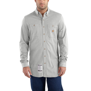 101698 - FLAME-RESISTANT CARHARTT FORCE® COTTON HYBRID SHIRT
