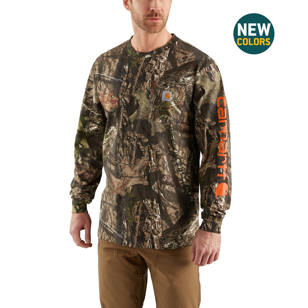 101776 - WORKWEAR CAMO GRAPHIC LONG SLEEVE T-SHIRT