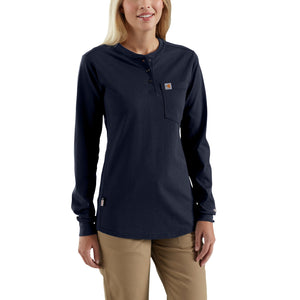 102686 - WOMEN'S FLAME-RESISTANT FORCE LONG-SLEEVE HENLEY