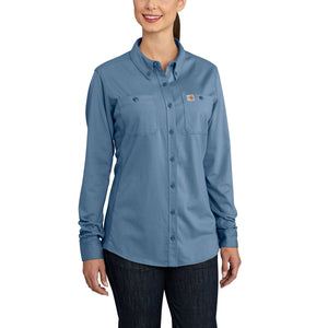 102687 - WOMEN'S FLAME-RESISTANT FORCE COTTON HYBRID SHIRT