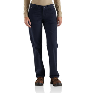 102689 - WOMEN'S FLAME RESISTANT RUGGED FLEX® ORIGINAL FIT CANVAS PANT