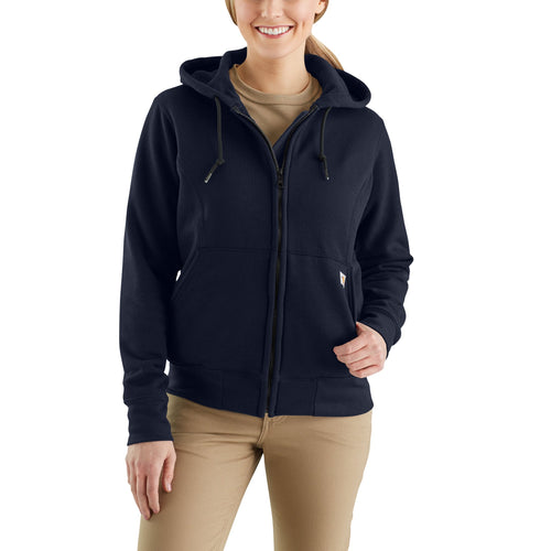 102690 - WOMEN'S FLAME-RESISTANT HEAVYWEIGHT HOODED ZIP SWEATSHIRT